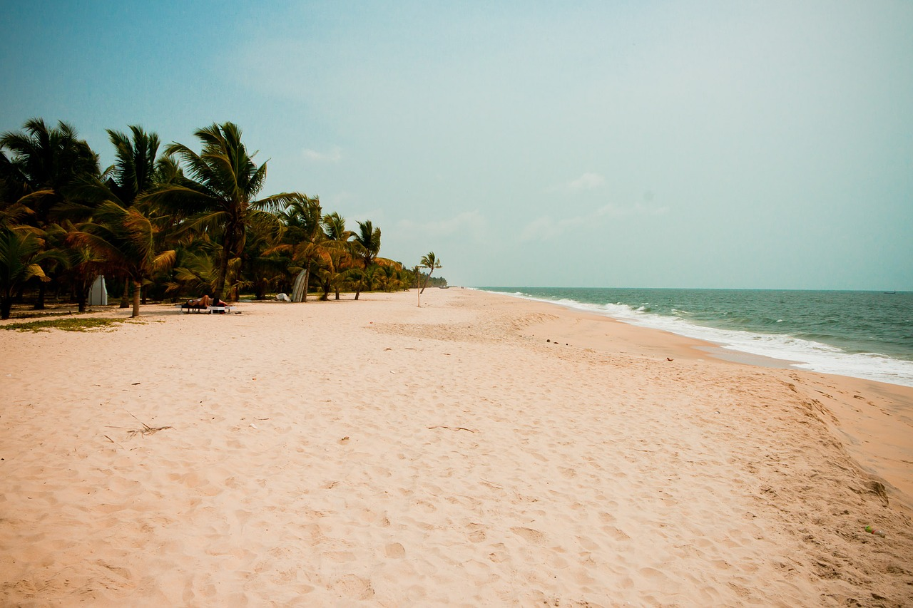 kerala india beach